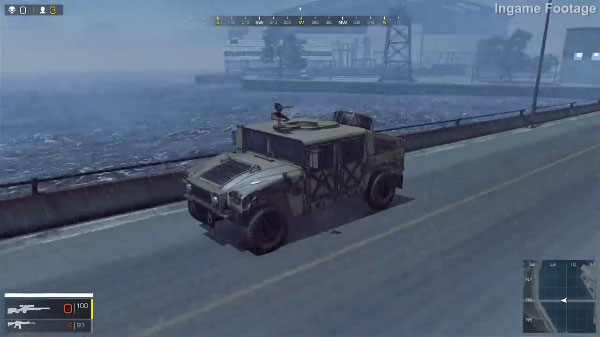 Ring of Elysium Vehicle