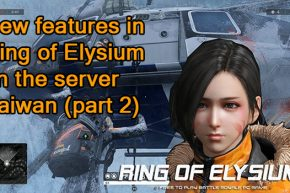 Ring of Elysium on the server Taiwan