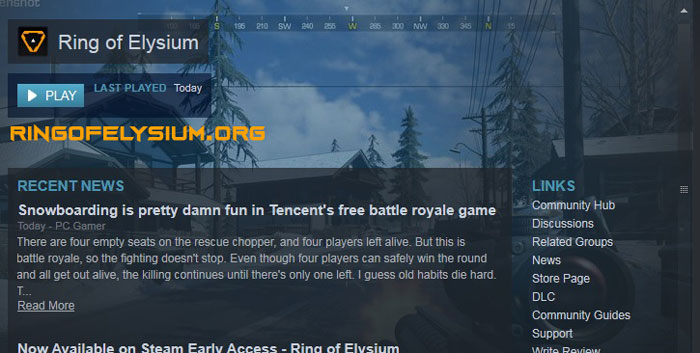 Install Ring of Elysium Steam Success