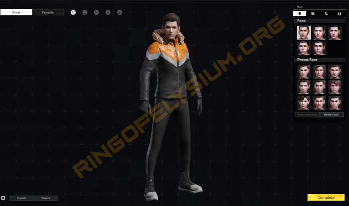 Create Character on ROE Steam