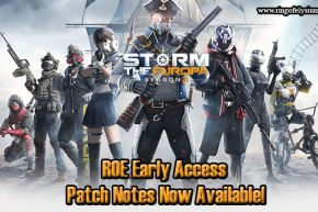 ROE Early Access Patch Notes