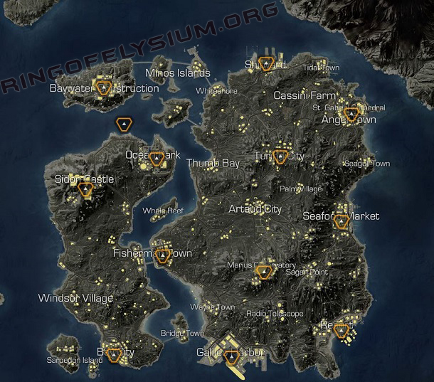 NEW VERSION OF MAP EUROPA ISLAND