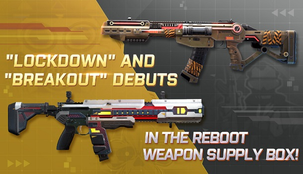 Reboot Weapon Skins & More Changes